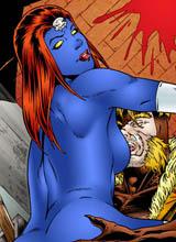 Mystique sex comics