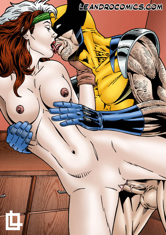 Apologise, but, wolverine and rogue porn you were