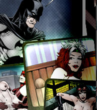 XXX Batwoman Cartoons